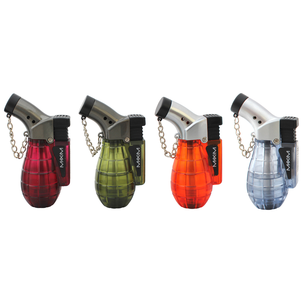 Maxim Single Jet Flame Grenade Lighter