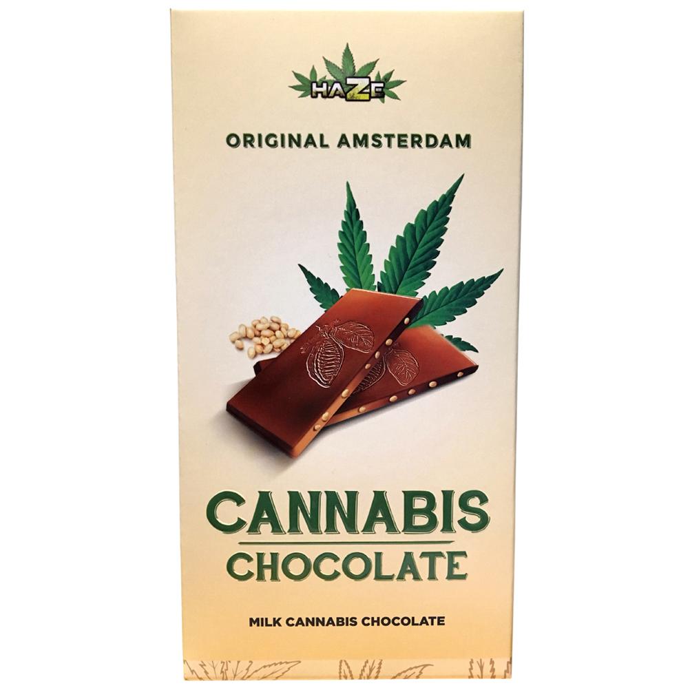 Haze Original Amsterdam Cannabis Chocolate