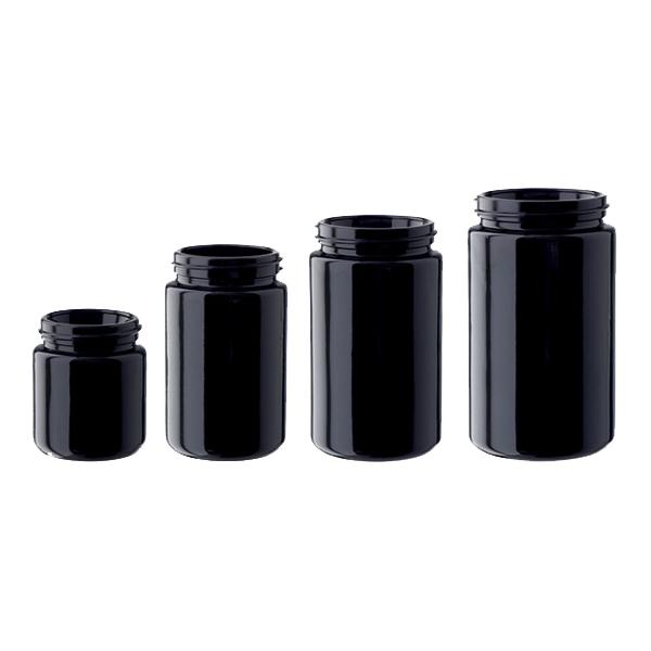 Miron Violett Glass Jars