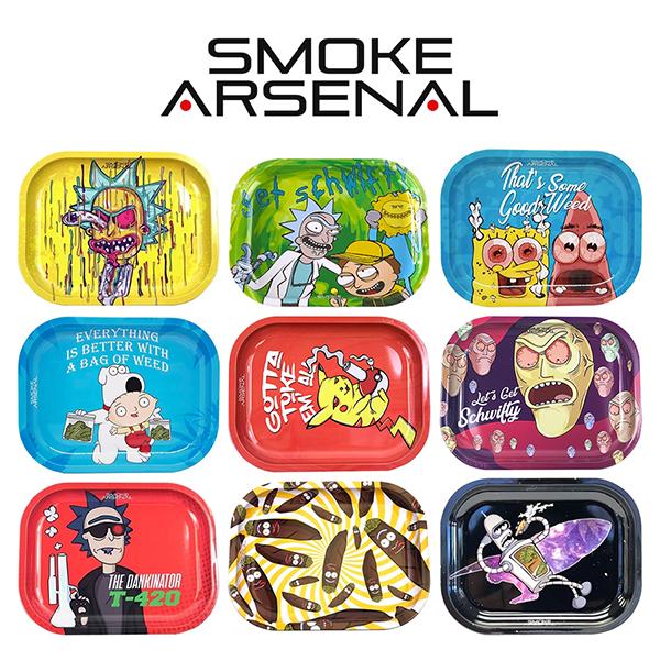 Smoke Arsenal Rolling Trays