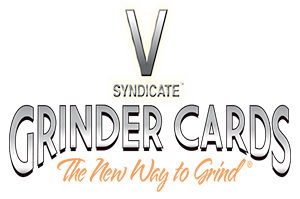 V SYNDICATE GRINDER CARD Amsterdam Triple X